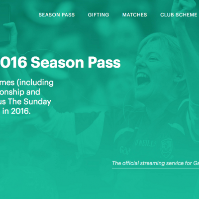 GAA Season Pass for approx $200 US – GAAGO