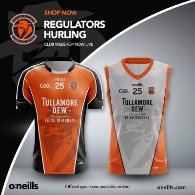 Regulators Hurling Club Merchandise Store Is Live!!